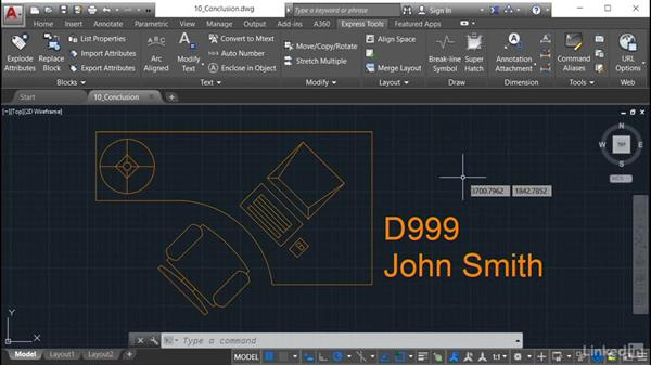 Next steps: AutoCAD: Express Tools Workflow