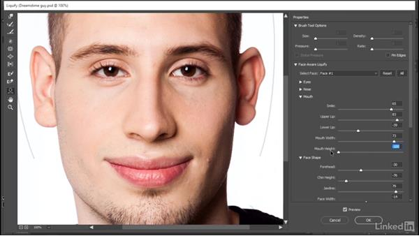 Face-Aware Liquify gets even better: Photoshop CC 2017: New Features
