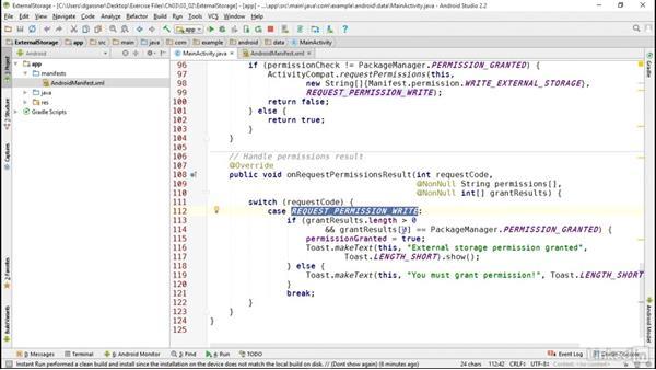 Work with files in external storage: Android App Development Essentials: Local Data Storage