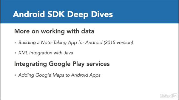 Next steps: Android App Development Essentials: Local Data Storage