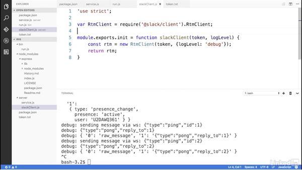 Connect to Slack: Building a Slack Bot with Node.js Microservices
