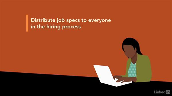 Update and understand the job specs: Interviewing a Job Candidate for Recruiters