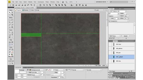 Page creation and asset sharing: Dreamweaver CS4 with CSS Essential Training