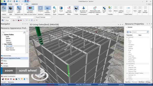 Creating 3D objects: Synchro Essential Training