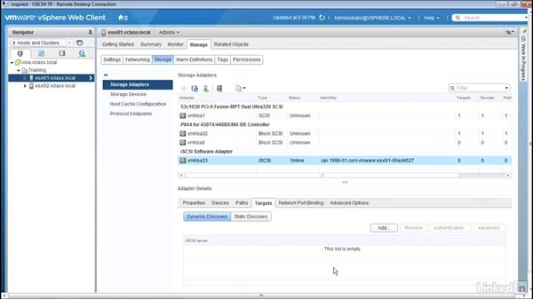 Discovering LUNs: Configuring and Administering Advanced VMware vSphere Storage