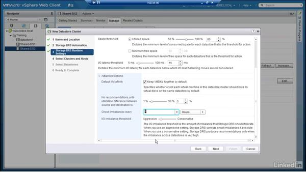 Data-store clusters: Configuring and Administering Advanced VMware vSphere Storage