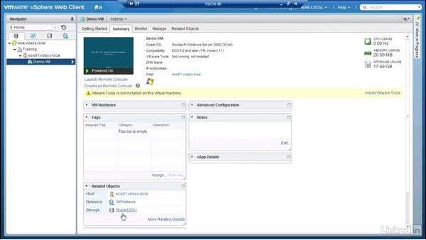 Configuring storage policies: Configuring and Administering Advanced VMware vSphere Storage