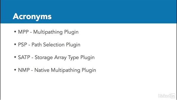 SATPs (storage array type plugIns) and PSPs (path selection plugins): Configuring and Administering Advanced VMware vSphere Storage