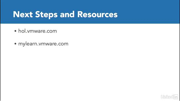 Next steps: Configuring and Administering Advanced VMware vSphere Storage