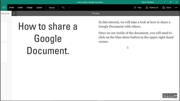Create tutorials with Sway: Office 365 for Educators