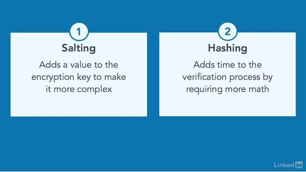 Key stretching: CISSP Cert Prep: 3 Security Engineering