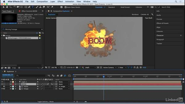 Preview Team Project (beta): After Effects CC 2017: New Features