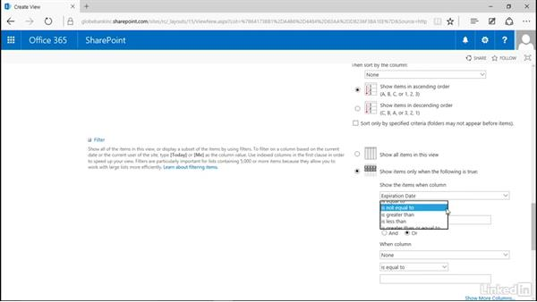 View records on hold: Manage Compliance in SharePoint