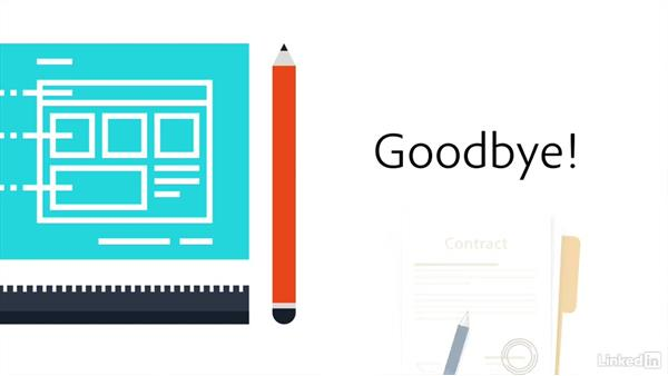 Goodbye: Freelance UX: Managing Projects
