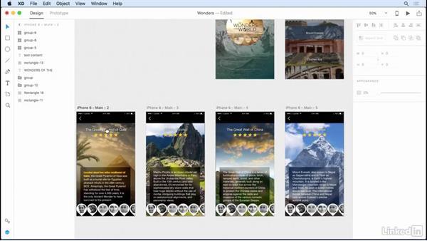 Creating symbols: Adobe XD CC: New Features
