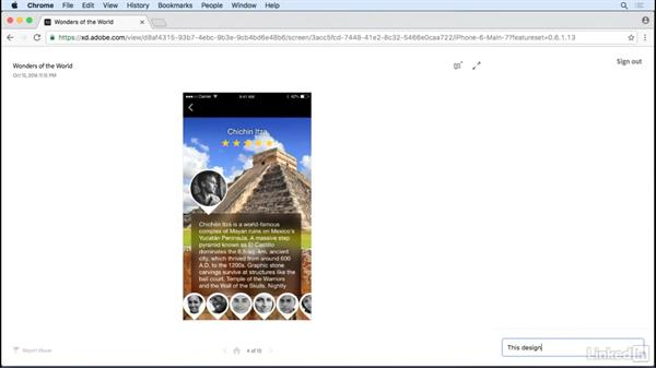 Preview in a browser: Adobe XD CC: New Features