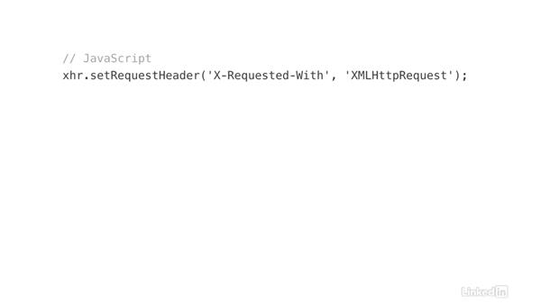 Detect Ajax requests: Ajax with PHP