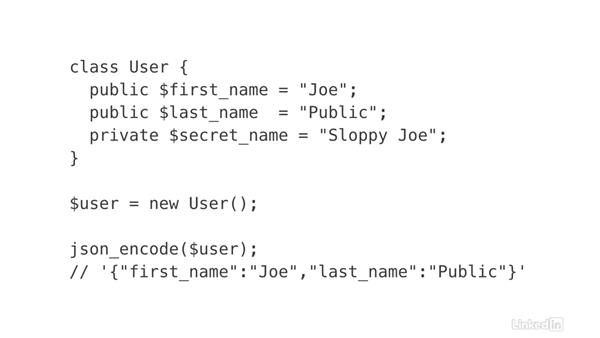 Respond with JSON data: Ajax with PHP
