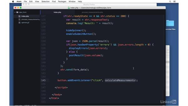 Prevent default: Ajax with PHP