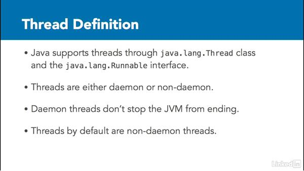 What is a thread?: Managing Threads in Java