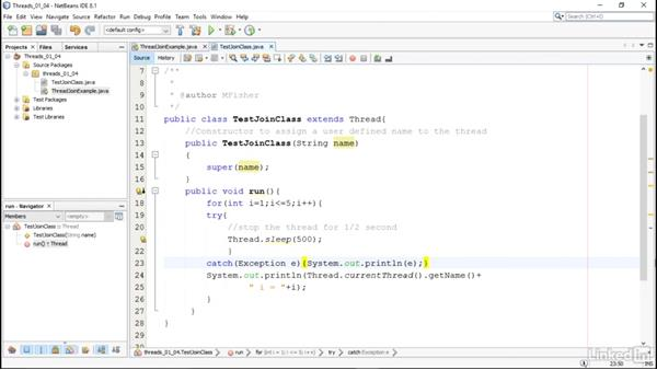 Advanced thread tasks: Managing Threads in Java