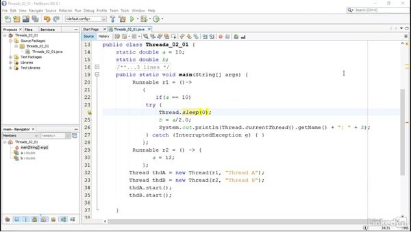 Problems with threads: Managing Threads in Java