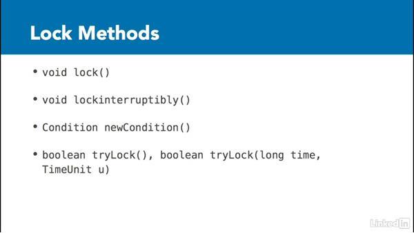 Locking framework: Managing Threads in Java