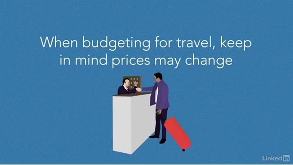 Meals, location, and travel expenses: Video Budgeting