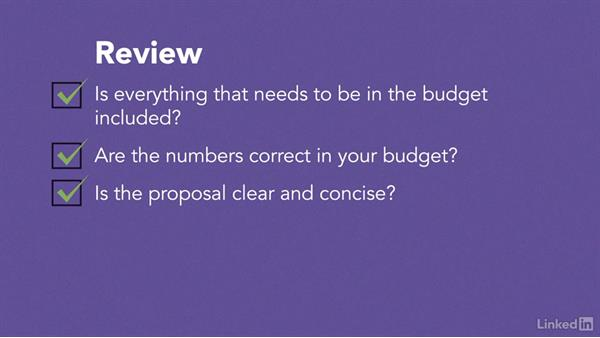 Review: Video Budgeting