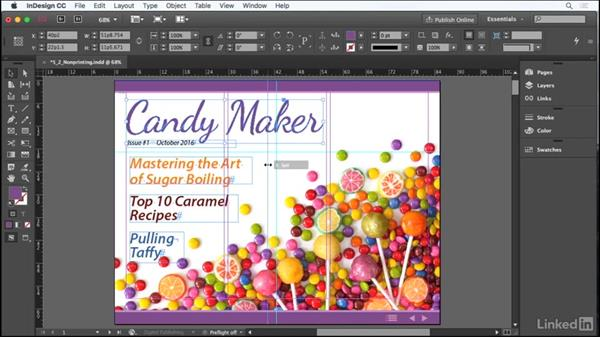 Using nonprinting design tools: Adobe Certified Associate Prep: InDesign