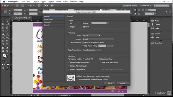 Export, package, and save files: Adobe Certified Associate Prep: InDesign