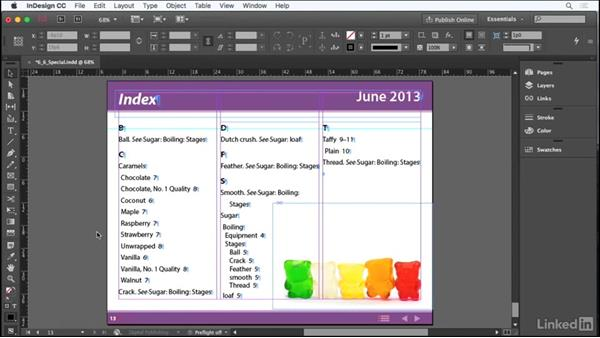 Add special page elements: Adobe Certified Associate Prep: InDesign
