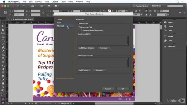 Prepare page layouts for multiscreen devices: Adobe Certified Associate Prep: InDesign
