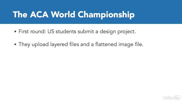 Compete in the ACA World Championships: Adobe Certified Associate Prep: InDesign