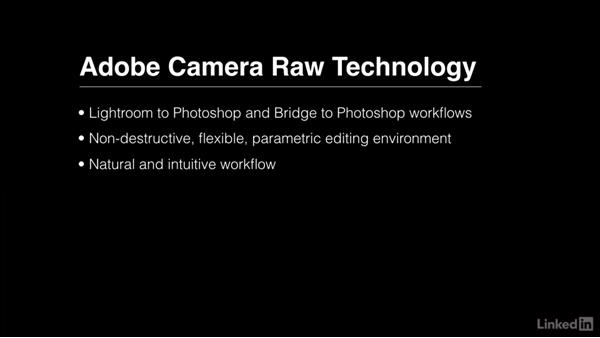 Starting with Adobe Camera Raw: Photoshop CC 2017 Essential Training: The Basics