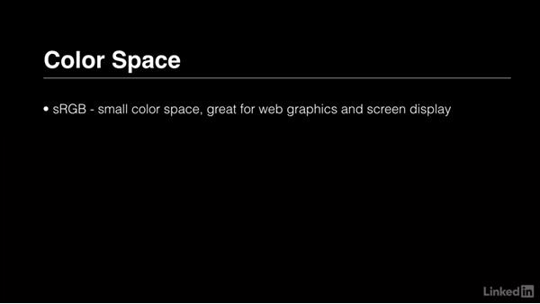 Understanding color space: Photoshop CC 2017 Essential Training: The Basics