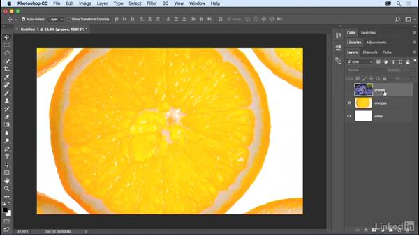 Exploring layer basics: Photoshop CC 2017 Essential Training: The Basics