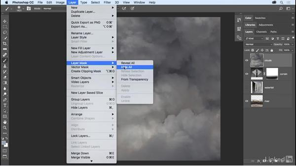 Layer mask essentials: Photoshop CC 2017 Essential Training: The Basics