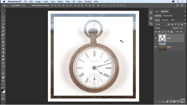 Getting to know the blend modes: Photoshop CC 2017 Essential Training: The Basics