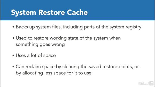 Clear caches: Part 1: Windows 10: Configure Storage
