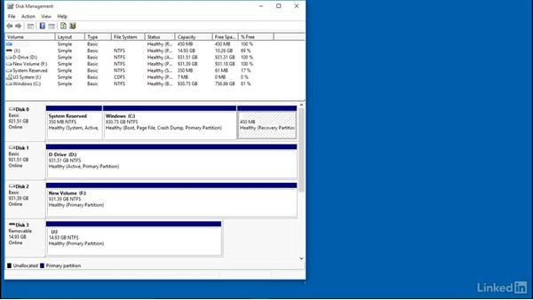 Troubleshoot external drive issues: Part 1: Windows 10: Configure Storage