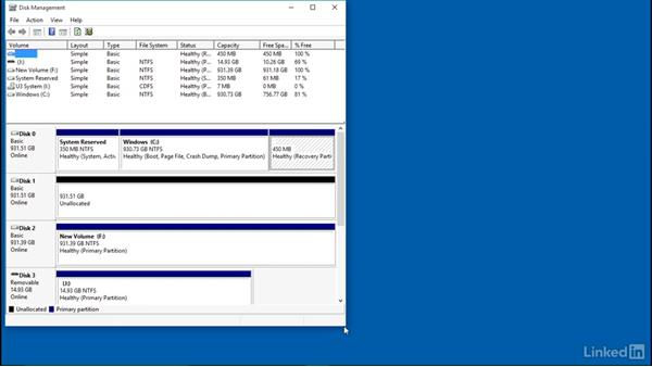 Troubleshoot external drive issues: Part 2: Windows 10: Configure Storage