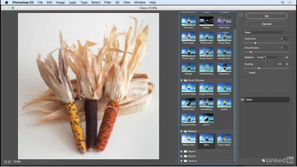 Artistic filters overview: Photoshop CC 2017 Essential Training: Photography
