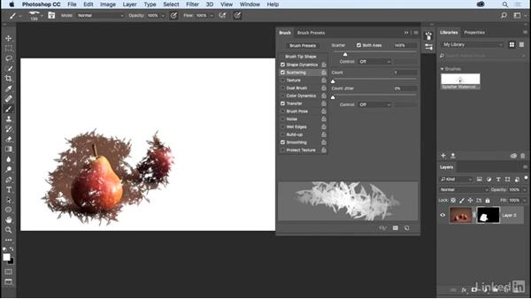 Creating a custom brush for masking: Photoshop CC 2017 Essential Training: Photography