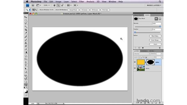 What is a layer mask?: Photoshop CS4: Layer Masks in Depth