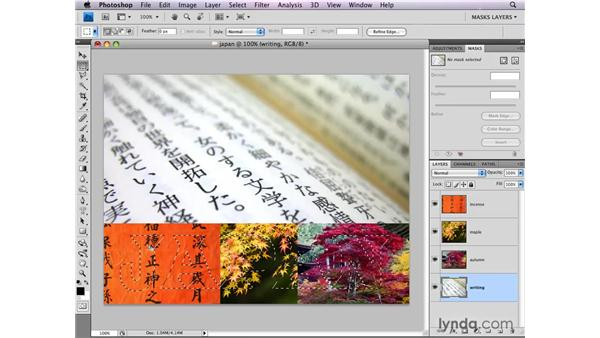 Moving and copying layer masks: Photoshop CS4: Layer Masks in Depth