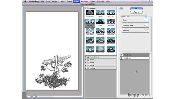 Filtering layer masks: Photoshop CS4: Layer Masks in Depth