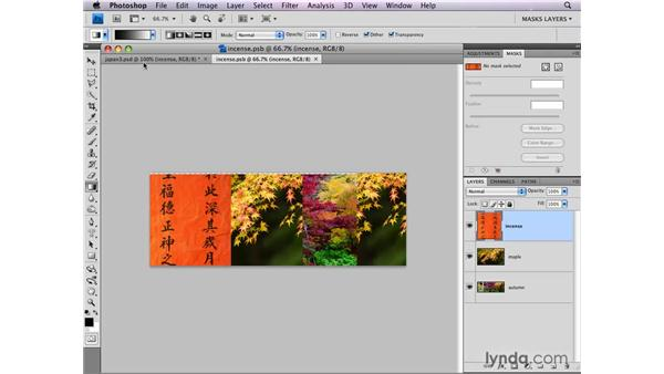 Adding layer masks to Smart Objects: Photoshop CS4: Layer Masks in Depth