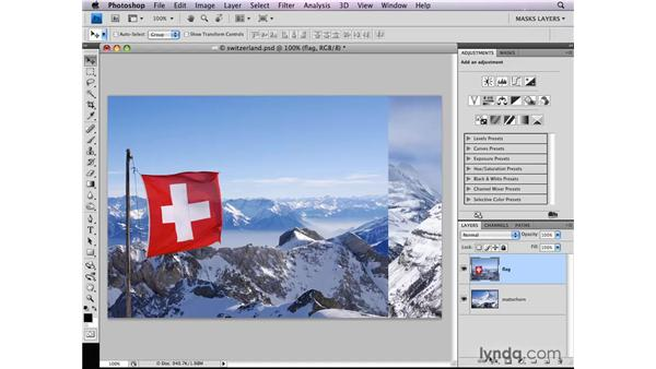 Combining images: Photoshop CS4: Layer Masks in Depth