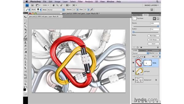 Intersecting objects: Photoshop CS4: Layer Masks in Depth